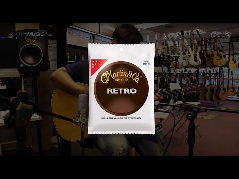 Martin Guitar String Comparison