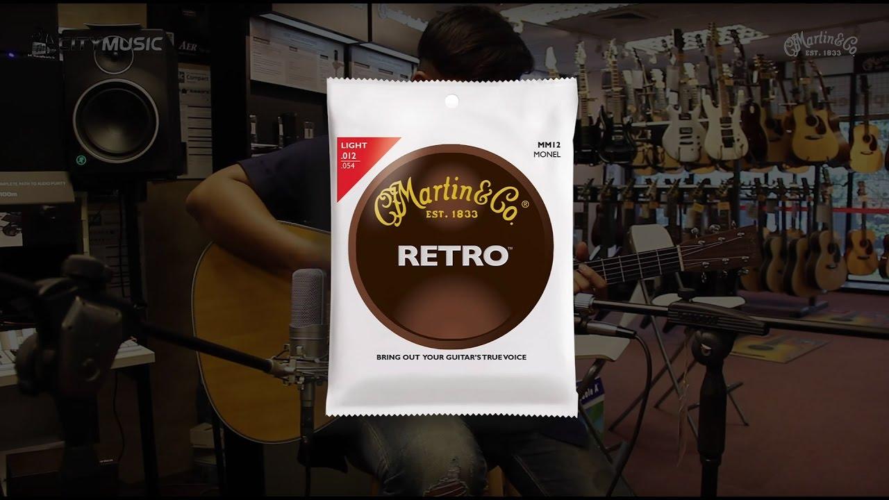 martin guitar string comparison youtube. Black Bedroom Furniture Sets. Home Design Ideas