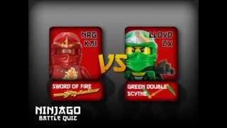 Lego Ninjago battle - NRG Kai Vs Loyd ZX (The Green Ninja)