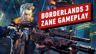 Borderlands 3: 14 Minutes of Zane Gameplay