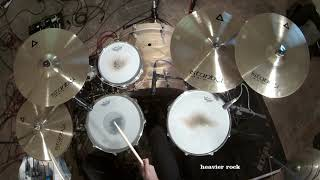 gear demo - Istanbul Agop Xist Brilliant cymbals - 4 different playing styles