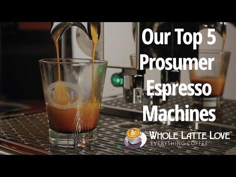 prosumer espresso machine reviews