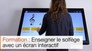 Comment utiliser l'écran interactif Android pour apprendre la musique aux élèves ?