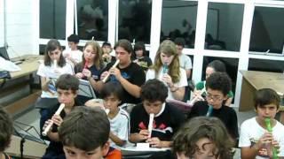 Mamma Mia (ABBA) (Flauta-Doce),Recorder, Ensemble
