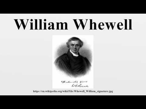 William Whewell