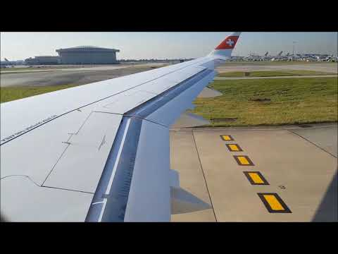 Swiss cs 300 london heathrow take off