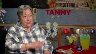 Kathy Bates likes scaring the poop out of people