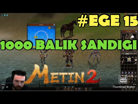 Metin2 TR/EGE/EFSANE BALIK EVENTİ #15 #EVDEKAL