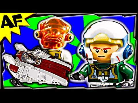 A-WING STARFIGHTER - Lego Star Wars 75003 Animated Building Review