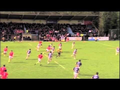 James Lewis Rugby Highlights
