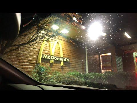 ubereats mcds night live (vlogmas day twelve)