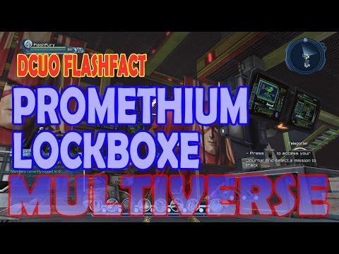 DCUO FlashFact; Promethium Lockboxes