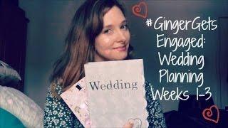 Ginger Gets Engaged: Wedding Planning Weeks 1-3