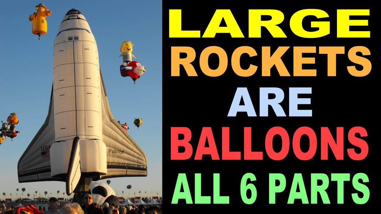Space Balloons (All 6 chapters) NASA Lies