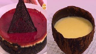 تشيز كيك الفانيليا والشيكولاتة والبنجر - كاسترد جوز الهند   | زي السكر حلقة كاملة