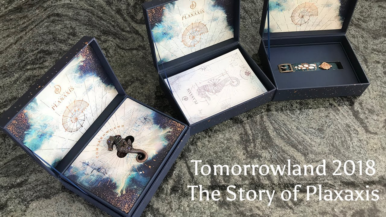 Tomorrowland ticket unboxing 2018