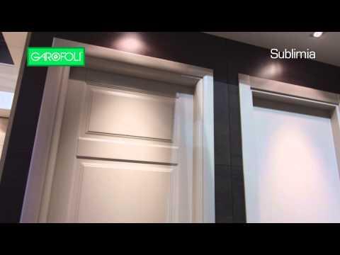 Porta laccata scorrevole a scomparsa in legno massello for Mirawood garofoli prezzo