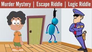 3 Popular Riddles on Suicide Mystery | Escape | Logic
