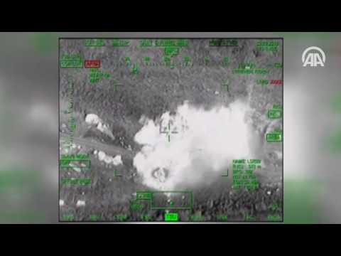 Bomba yüklü araç 'ATAK' ile imha edildi