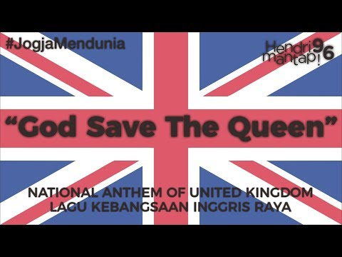 #18: Indonesian sings God Save the Queen, National Anthem of United Kingdom