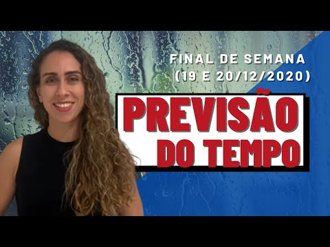 PREVISÃO DO TEMPO | Confira o tempo para amanhã e domingo no Rio