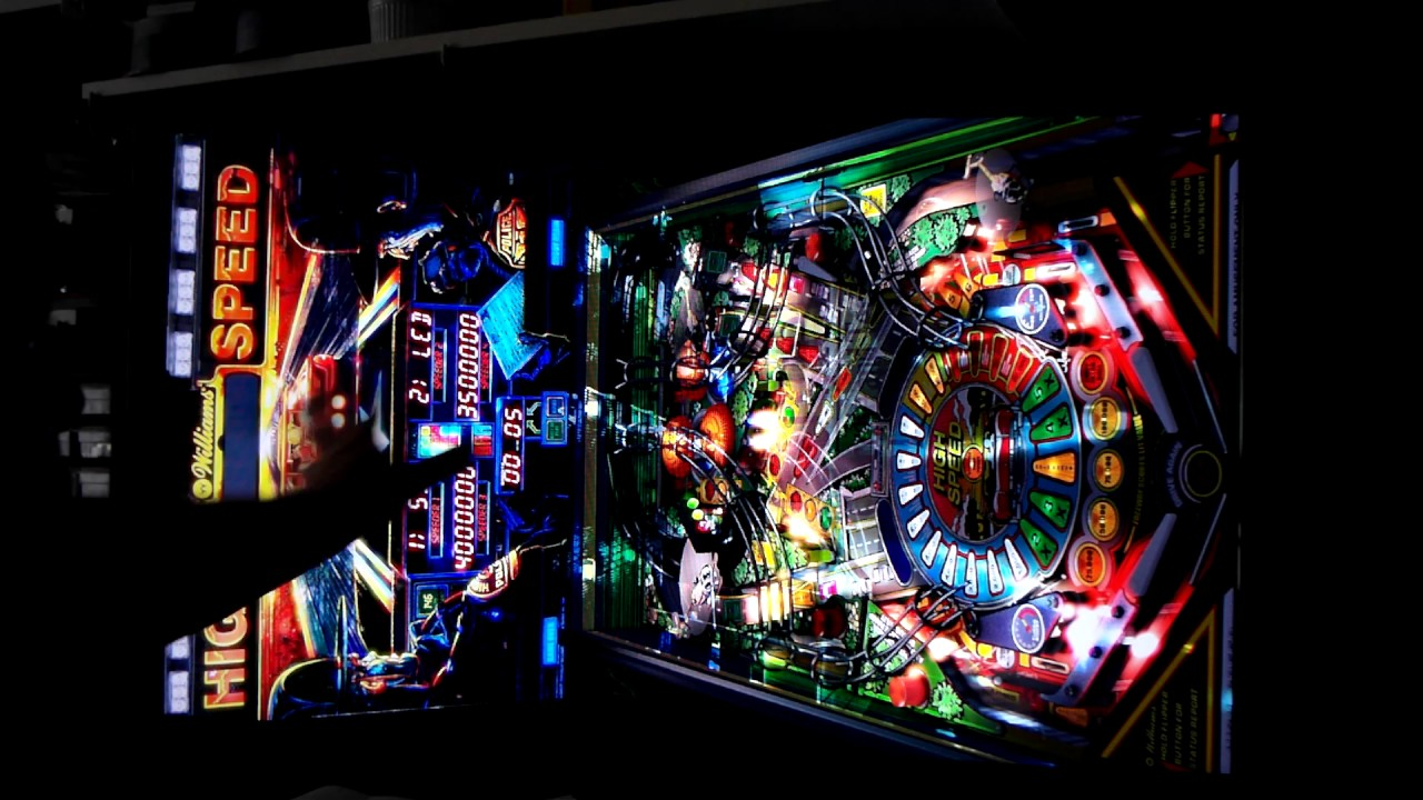 Landscape and Portrait modes for VPX FSS pinball tables