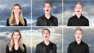 """""""Over The Rainbow"""" 6-part A Cappella (cover by Derik Nelson & Family)"""