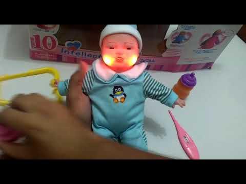 Boneca Que Chora Quando Toma Injecao Youtube