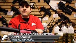 Full Auto Airsoft Store in NJ quiet cylinder and piston head installation Airsoft tech videos