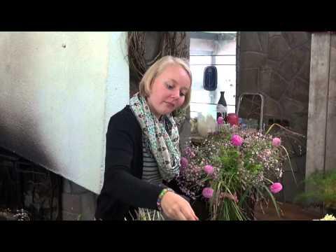 Ulrike Gbel  Landesmeisterin der Floristen Sachsen  Doovi