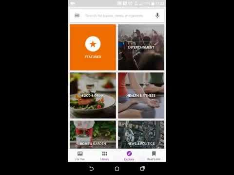 Google Play Newsstand v4