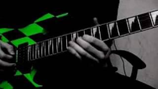 Hammerfall - Let the Hammer Fall (Guitar cover)