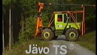 Jäpro Harvester Durchforstung
