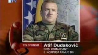 Sporni snimci 5 og Korpusa Armije BiH iz 1995 godine