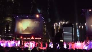 UAE's 42 National Day Celebrations at the Burj Park in Dubai