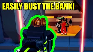 EASILY BUST BANK with this SIMPLE TRICK! | Roblox Jailbreak