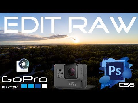 How to Edit GoPro RAW Photos in Adobe Photoshop CS6