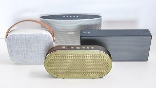 Blind listening test #4 - bluetooth portable premium class