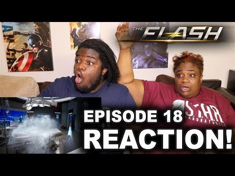 The Flash Season 3 Episode 18 : REACTION WITH MOM!