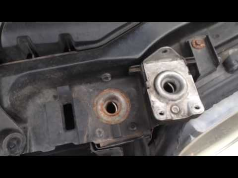 How to open stuck jammed hood from broken cable BMW e53 X5 BEST WAY in under 30 seconds !!!