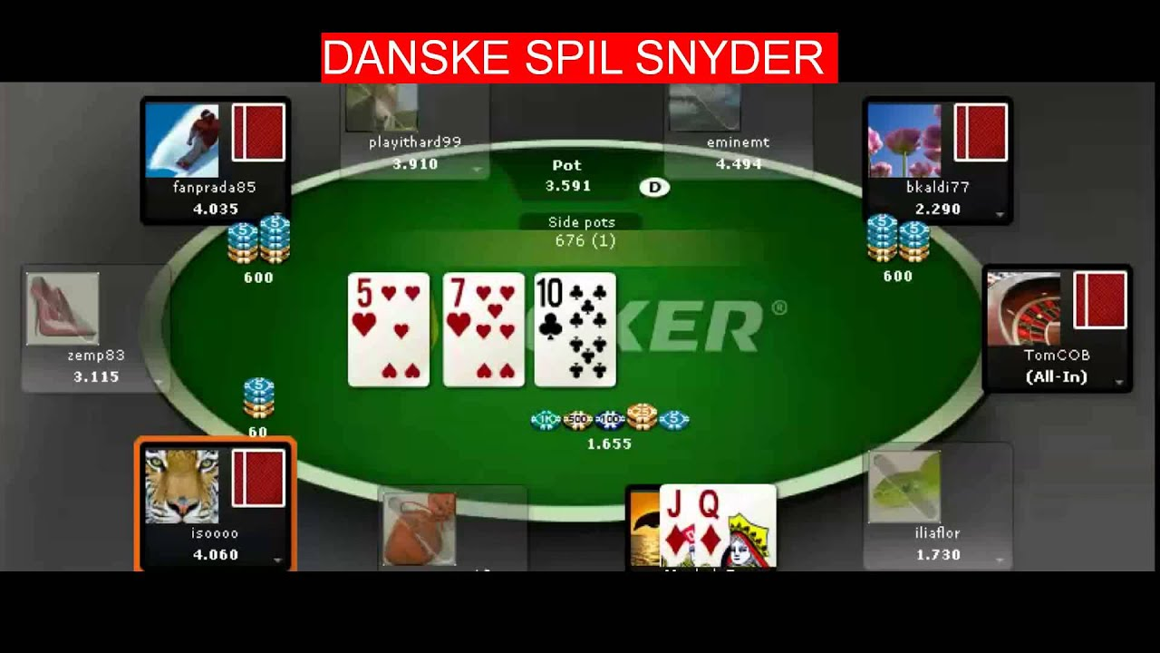 Danske Spil Poker Snyd  Youtube