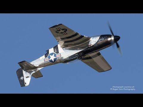 P-51 Mustang - SPECTACULAR SOUND!  No Announcer