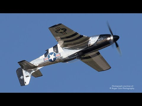 P-51 Mustang - SPECTACULAR SOUND!  No Announcer
