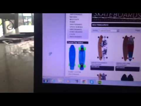 How custom make your own penny skate board youtube for Create your own penny
