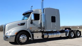 2018 Peterbilt 579 565hp 2050 Torque Owner Operator Spec Platinum Interior