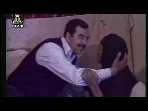 Iraqi TV - Saddam, Iraq, Land of Hearts - فيديو كليب صدام حسين ، العراق ، أرض القلوب