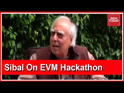 Kapil Sibal Defends His Attendance Of EVM Hackathon Event In London | EVM Hacking Row