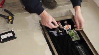 Устройство и монтаж внутрипольных конвекторов REGULUS-system(В гостиной установлен теплый пол и быстро реагирующий внутрипольный конвектор с вентилятором QUATTROVENT 100...., 2016-04-11T12:16:50.000Z)