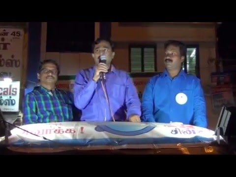 V.Ponraj Speech with Senthoora...