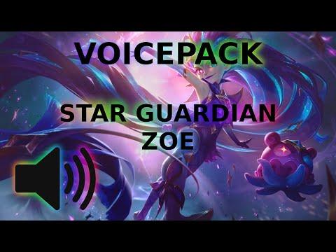 Voicepack - Star Guardian Zoe #leagueoflegends